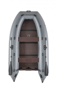 Лодка ПВХ Пиранья 330 Q5 SL слань-книжка надувная под мотор